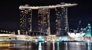 Marina Bay Sands Hotel: exclusividade em Singapura