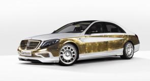 Conheça o 1º Mercedes coberto de ouro