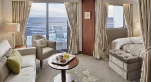4 suites fantásticas de cruzeiros