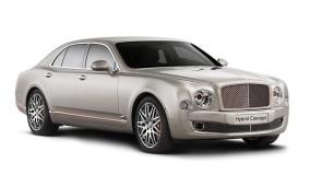 Bentley apresenta o seu mega híbrido