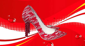 Edição especial Coca-Cola de saltos altos