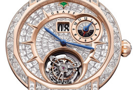 GRAFF apresenta relógio personalizado